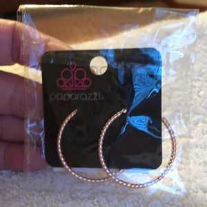 Paparazzi copper  hoops